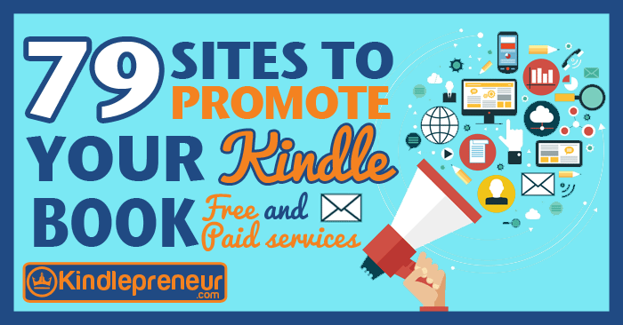 List of sites to promote your kindle book or ebook