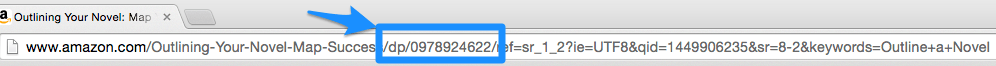 10 digit ISBN in a Amazon URL