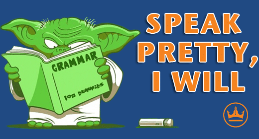 Yoda-with-a-Grammar-book