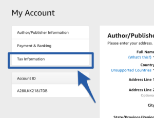 avoid the 30 tax withholding for non us self publishers