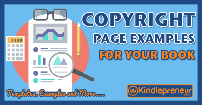 Ironclad book copyright page examples that will protect you for Copyright template for book