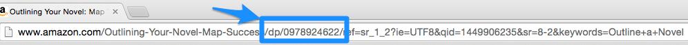 10 digit ISBN in a Amazon URL