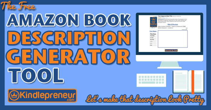 Amazon-Book-Description-Generator-Tool