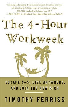 4 hour work week book title