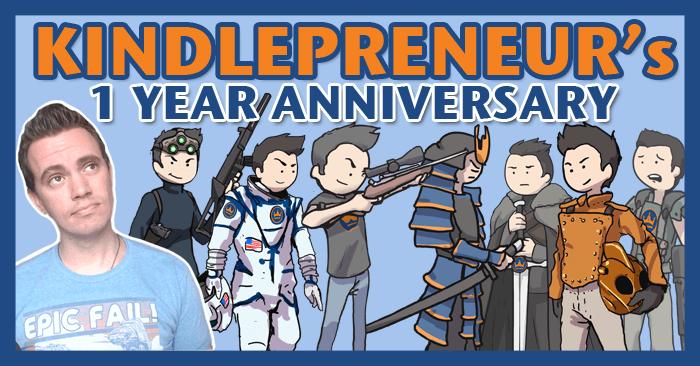 Kindlepreneur-Anniversary