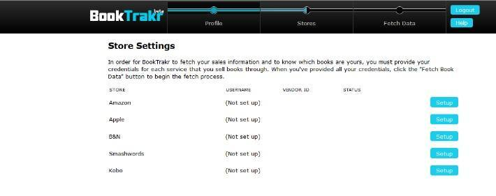 Entering Your Store settings for Book Trakr