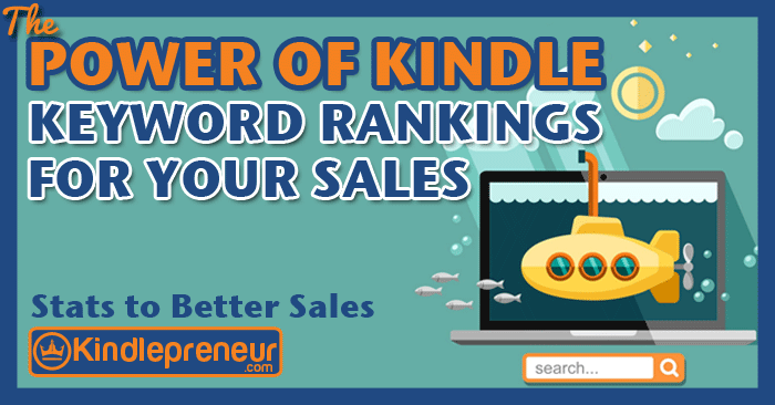 Kindle Keyword Ranking Percentages: #1 vs. #2