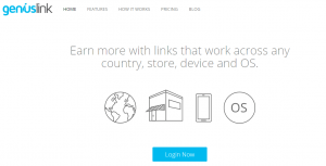 Genius Link Homepage