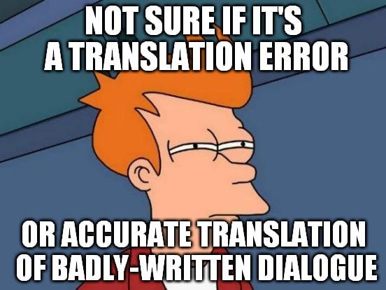 book translation accuracy meme