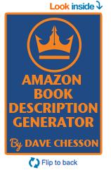 Free Amazon Book Description Generator Tool