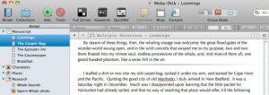 scrivener scrivenings view