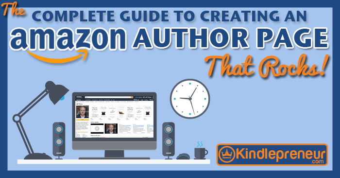How to Setup Amazon Author Central and Your Author Page