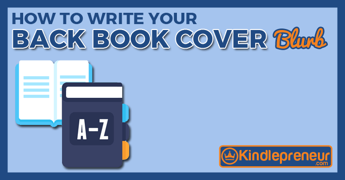 How To Make A Book Jacket Report : How to create a back book cover blurb that sells