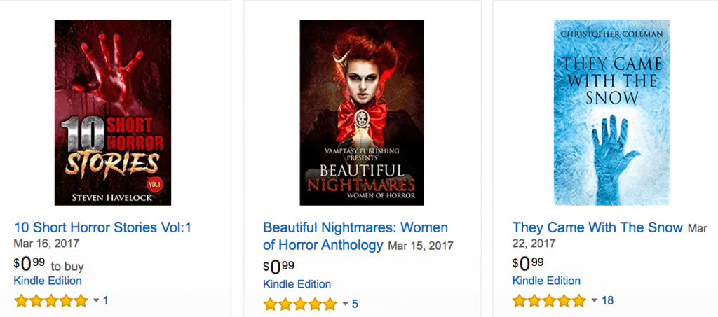 amazon horror covers