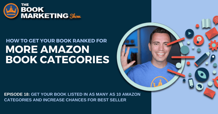 get listed in more amazon book categories