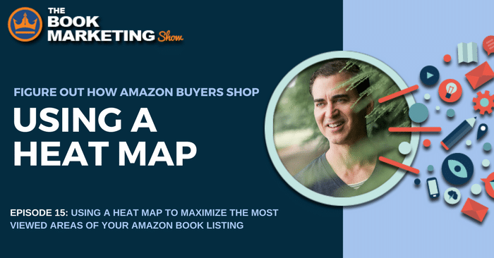 michael alvear using a heat map to maximize amazon book listing