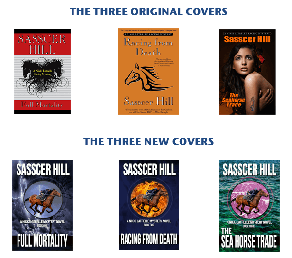 Sasser Hill Book Cover Changes