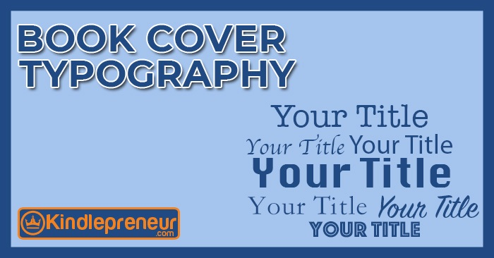 Typographic Book Cover Maker ~ Book cover typography fonts