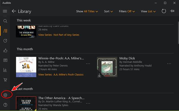best-writing-apps-audible-screenshot