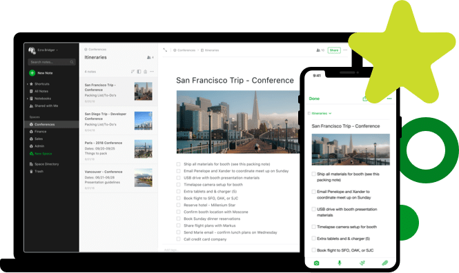 best-writing-app-evernote