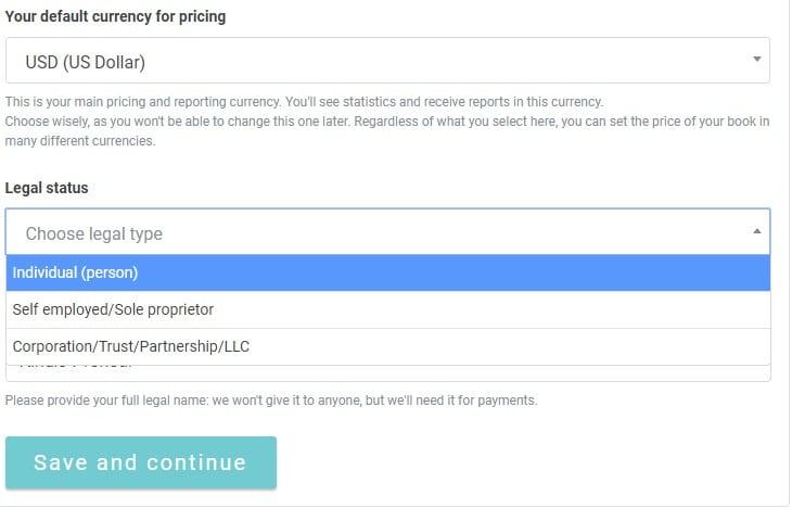 Publish Drive Review - Legal status