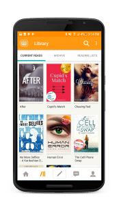 Review of Wattpad android app