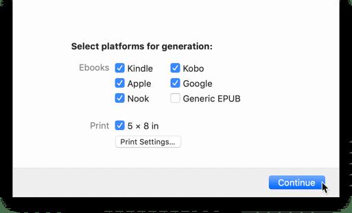 vellum software review book generation