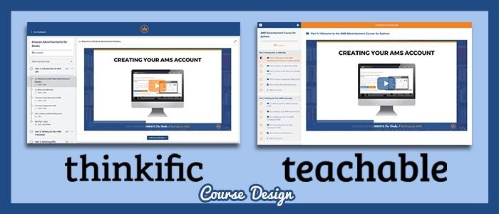 thinkific-vs-teachable-course-design