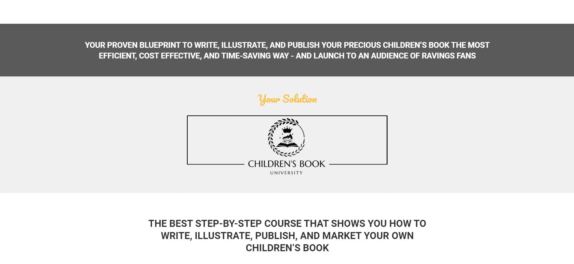 children's books online course