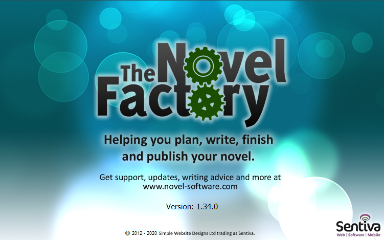 novel factory outlining software