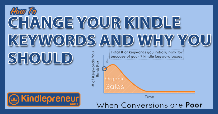how to change your kindle keywords