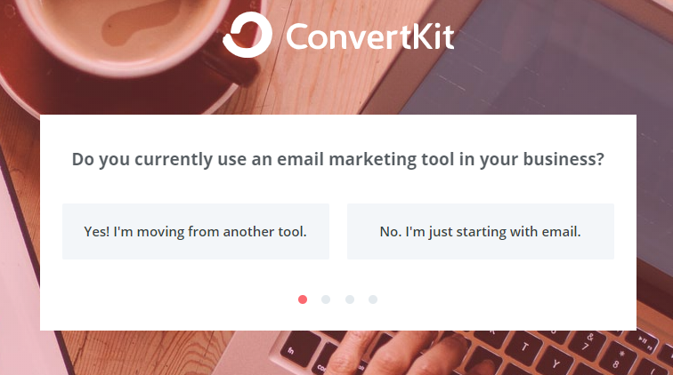 ConvertKit free account sign up questions