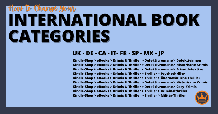 How to Change Your International Book Categories