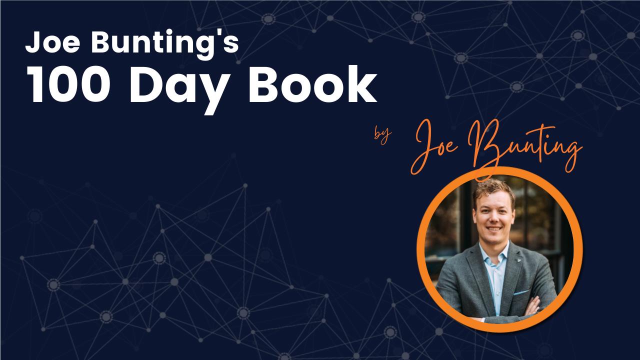 Joe Bunting's 100 Day Book