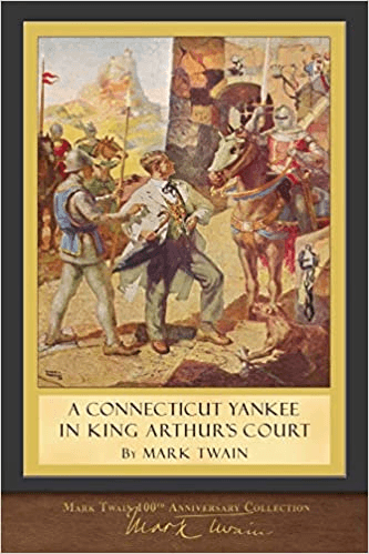 Book cover for A Connecticut Yankee in King Arthur's Court by Mark Twain