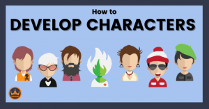 header image for how to develop characters