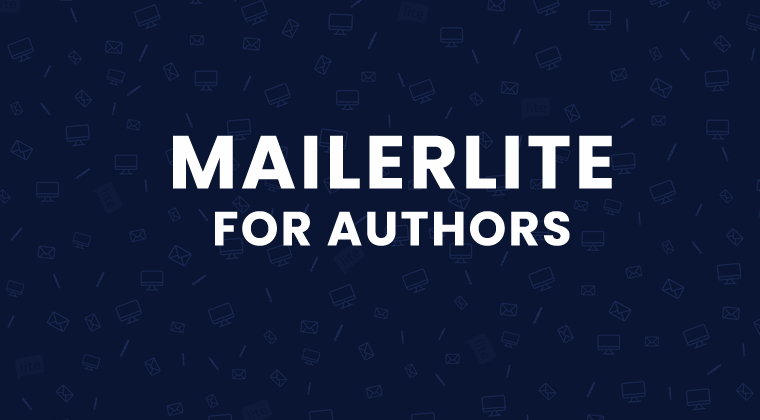 MailerLite Email For Authors