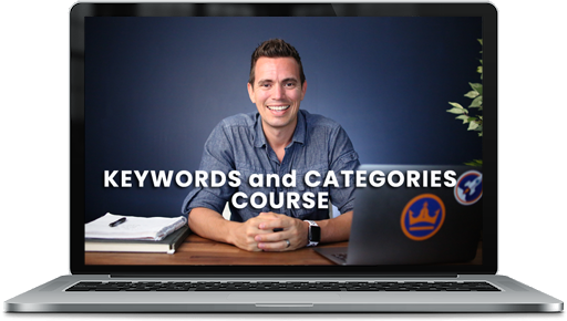 mailerlite course ad with laptop