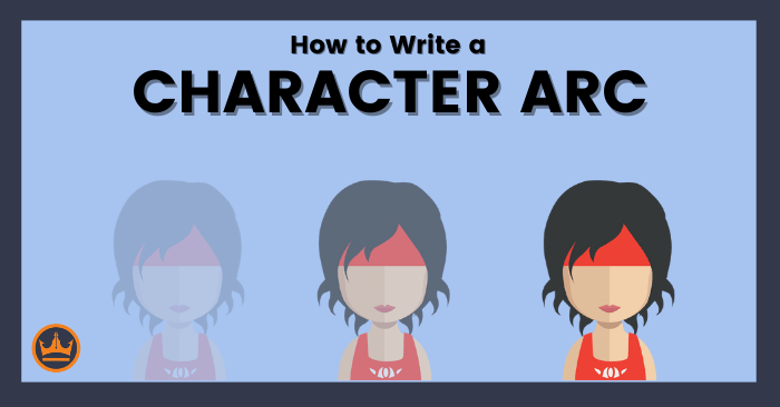 banner image that says how to write a character arc