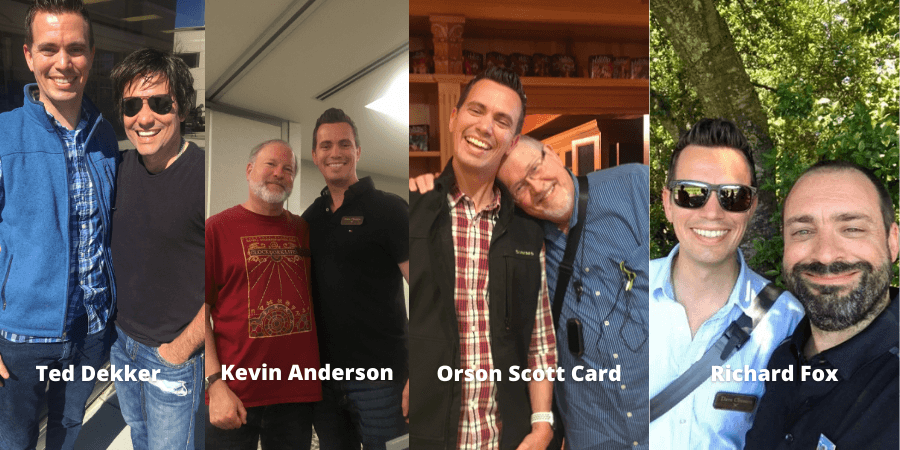 famous authors with dave chesson