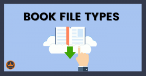 featured image that says book file types
