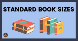 featured image that says standard book sizes