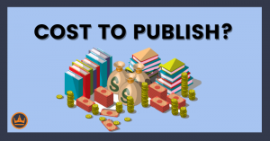 featured image that says cost to publish?