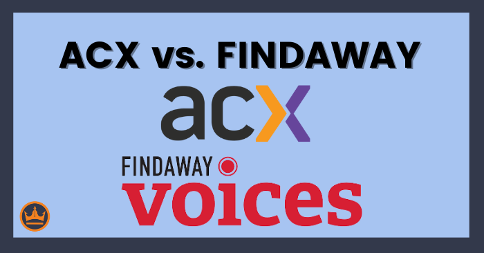 featured image that says ACX vs Findaway
