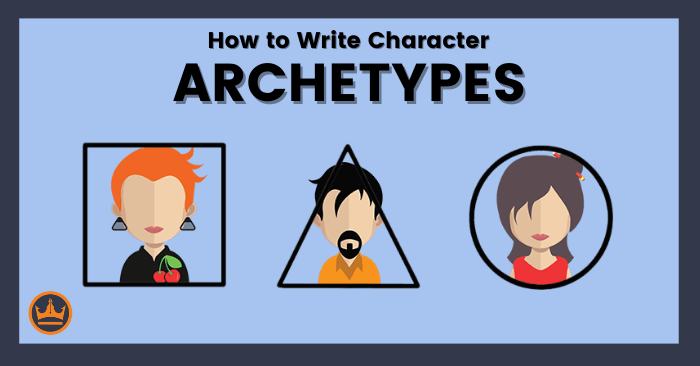 featured image that says how to write character archetypes