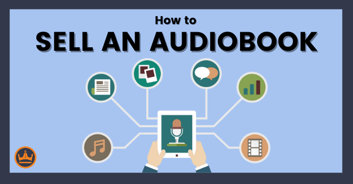 Featured image that says How to Sell an Audiobook.
