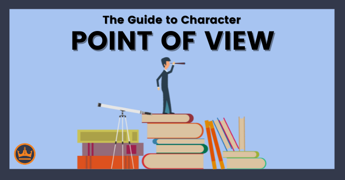 featured image that says the guide to character point of view