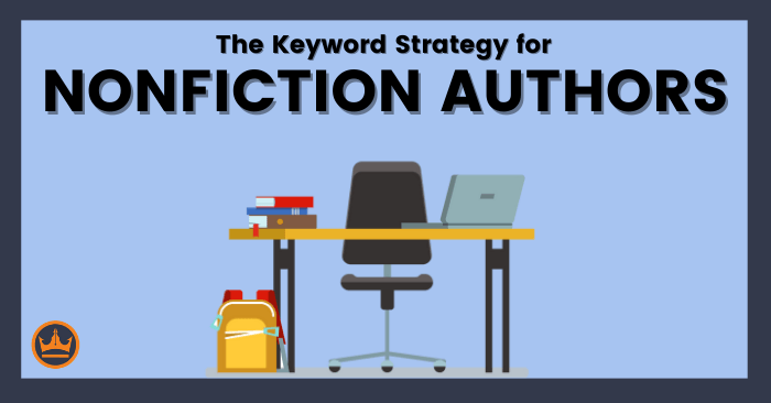 featured image that says the keyword strategy for nonfiction authors