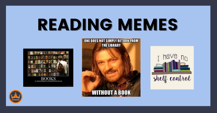 featured image that says reading memes with several examples