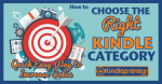 How to choose the best Kindle Category so as to make more sales